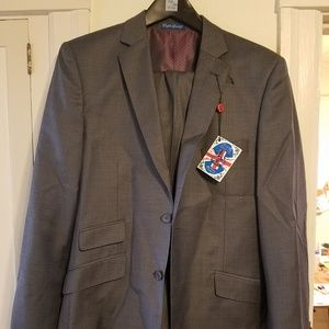 Gray English Laundry Suit 38R 31W
